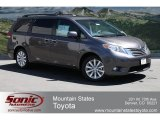2012 Predawn Gray Mica Toyota Sienna Limited AWD #64510589