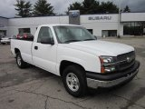 2003 Summit White Chevrolet Silverado 1500 LS Regular Cab #64510565