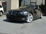 2008 Jet Black BMW 3 Series 335i Convertible #64510882