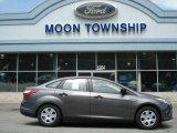 2012 Sterling Grey Metallic Ford Focus S Sedan #64510870