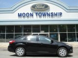 2012 Black Ford Focus SE Sedan #64510869