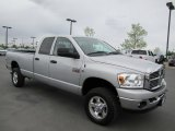 2008 Bright Silver Metallic Dodge Ram 3500 SLT Quad Cab 4x4 #64555021