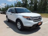 2013 Oxford White Ford Explorer FWD #64555305