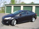 2012 Black Ford Focus SEL Sedan #64554660