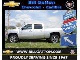 2012 Silver Ice Metallic Chevrolet Silverado 1500 LTZ Crew Cab 4x4 #64555250