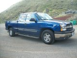 2004 Arrival Blue Metallic Chevrolet Silverado 1500 LS Extended Cab #64555234