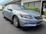 2012 Celestial Blue Metallic Honda Accord EX-L V6 Sedan #64554574