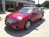 2011 Red Candy Metallic Ford Fusion SEL V6 #64554946