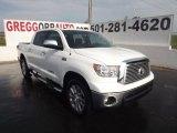 2012 Super White Toyota Tundra Platinum CrewMax 4x4 #64554930