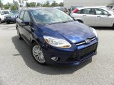 2012 Kona Blue Metallic Ford Focus SEL 5-Door #64554918