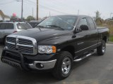 2004 Black Dodge Ram 1500 SLT Quad Cab 4x4 #64555172