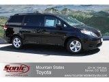 2012 Black Toyota Sienna LE #64554501