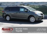 2012 Cypress Green Pearl Toyota Sienna LE AWD #64554497