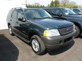 2004 Aspen Green Metallic Ford Explorer XLS 4x4 #64554481