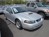 2001 Silver Metallic Ford Mustang GT Coupe #64554478