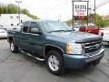 2007 Blue Granite Metallic Chevrolet Silverado 1500 LT Z71 Extended Cab 4x4 #64554468