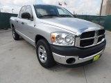 2008 Bright Silver Metallic Dodge Ram 1500 SXT Quad Cab #64554887