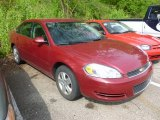 2006 Sport Red Metallic Chevrolet Impala LS #64554459