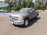 2012 Graystone Metallic Chevrolet Silverado 1500 LT Extended Cab 4x4 #64555104