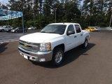 2012 Summit White Chevrolet Silverado 1500 LT Crew Cab 4x4 #64555103