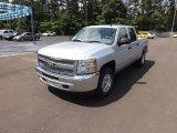 2012 Silver Ice Metallic Chevrolet Silverado 1500 LT Crew Cab 4x4 #64555102