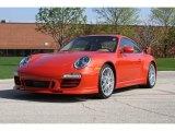 Paint to Sample Orange Metallic Porsche 911 in 2012