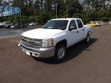 2012 Summit White Chevrolet Silverado 1500 LT Crew Cab 4x4 #64555099
