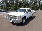 2012 Summit White Chevrolet Silverado 1500 LT Crew Cab 4x4 #64555093