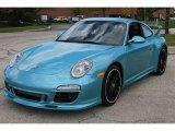 Ipanema Blue Metallic Porsche 911 in 2012