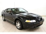 2000 Black Ford Mustang V6 Coupe #64555063