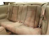 2000 Ford Mustang V6 Coupe Rear Seat