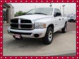 2004 Bright White Dodge Ram 1500 SLT Quad Cab 4x4 #64554821