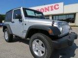 2012 Bright Silver Metallic Jeep Wrangler Sport S 4x4 #64554814