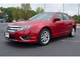 2011 Red Candy Metallic Ford Fusion SEL #64555050