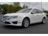 2011 White Suede Ford Fusion SEL #64555049