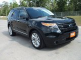 2013 Tuxedo Black Metallic Ford Explorer Limited #64612225