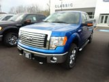 2012 Blue Flame Metallic Ford F150 XLT SuperCab 4x4 #64611952