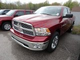 2012 Deep Cherry Red Crystal Pearl Dodge Ram 1500 SLT Quad Cab 4x4 #64611938