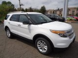2013 Oxford White Ford Explorer XLT 4WD #64611670