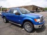 2012 Blue Flame Metallic Ford F150 XLT SuperCab 4x4 #64611662