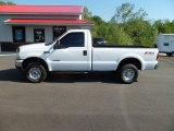 2004 Oxford White Ford F250 Super Duty XLT Regular Cab 4x4 #64612196