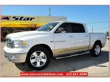2011 Bright White Dodge Ram 1500 Lone Star Crew Cab #64611876