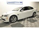 2009 White Hot Pontiac G8 Sedan #64612126