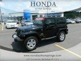 2010 Black Jeep Wrangler Sahara 4x4 #64611852