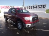 2009 Salsa Red Pearl Toyota Tundra SR5 Double Cab 4x4 #64611840