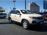 2011 White Sand Beige Kia Sorento LX #64611562