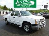 2004 Summit White Chevrolet Silverado 1500 LT Extended Cab 4x4 #64612085