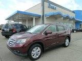 2012 Basque Red Pearl II Honda CR-V EX 4WD #64612033