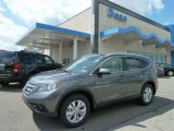 2012 Polished Metal Metallic Honda CR-V EX-L 4WD #64612031