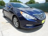 2013 Indigo Night Blue Hyundai Sonata Limited 2.0T #64611764